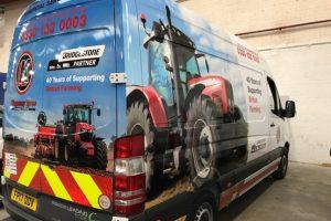 norfolk show kingsway tyres livery van