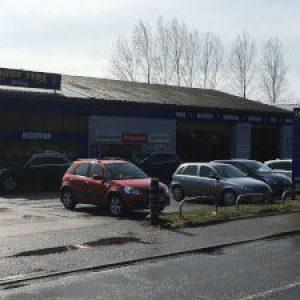 Lodge Tyre branch at Fakenham, Norfolk