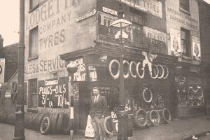 Bloomsbury Place Shop Birmingham, Lodge Tyre