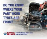Why we don't sell part-worn tyres