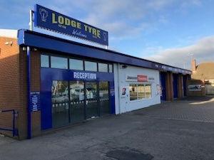 Lodge Tyre Spalding branch
