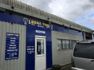 Lodge Tyre branch at Thetford, Norfolk