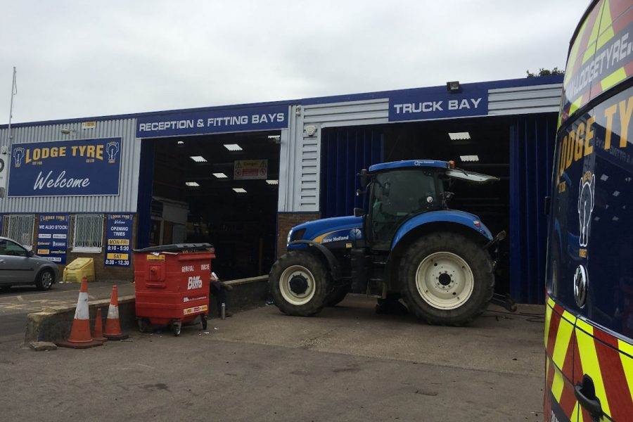 Truck Bay at Lodge Tyre