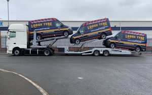 Van Delivery for Lodge Tyre